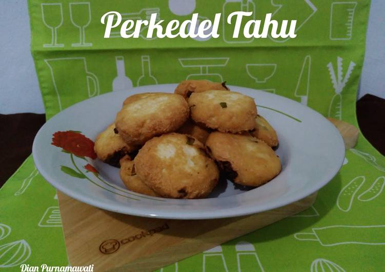 Resep Perkedel Tahu