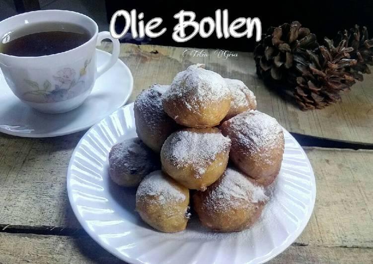 Resep Olie Bollen (Donat Belanda)