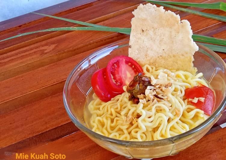 Resep Mie Kuah Soto