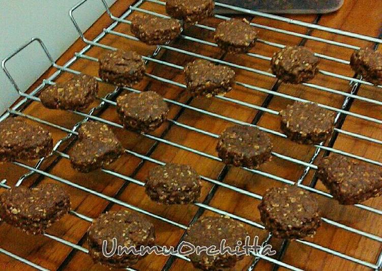 Resep Oatmeal Chocolate Cookies