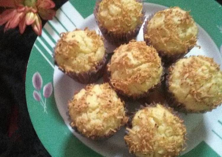 Resep Muffin tape lembut irit telur