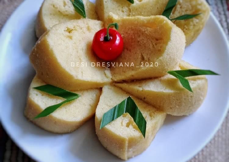Resep Bolu Kukus Keju Simple (No Mixer)