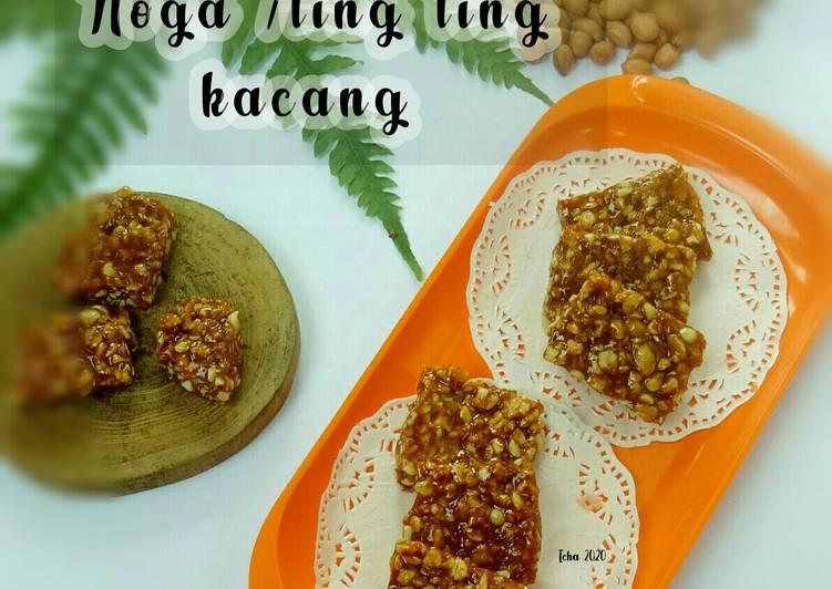 Resep Noga /Ting ting kacang