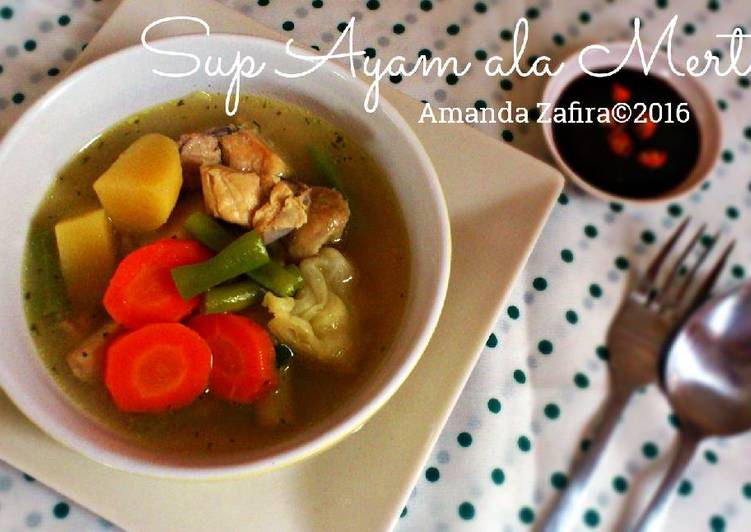 Resep Sup Ayam ala Mertua