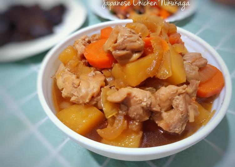 Resep Japanese Chicken Nikujaga