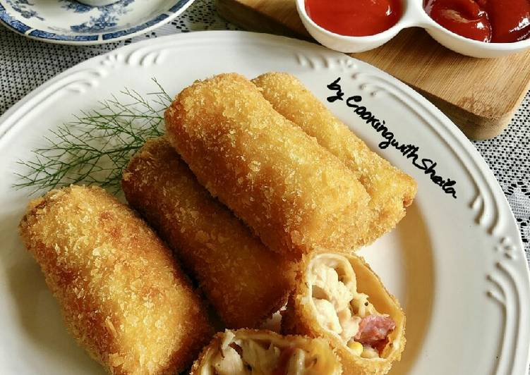 Resep Creamy Chicken Risoles