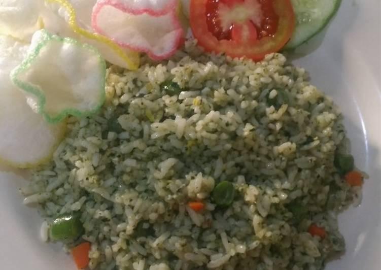 Resep 44.Nasi Goreng Kemangi