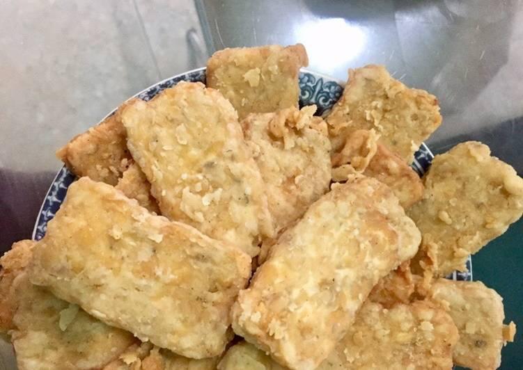 Resep Tempe Goreng Crispy / Tepung Goreng Tepung Kriuk