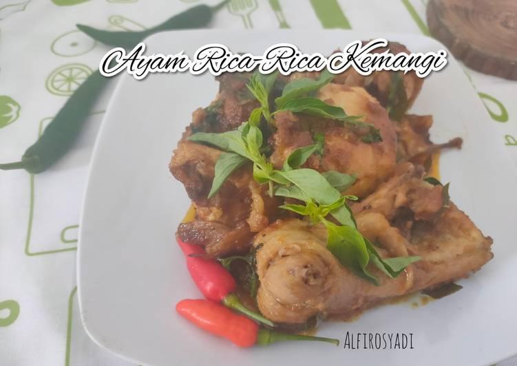 Resep Ayam Rica-rica Kemangi
