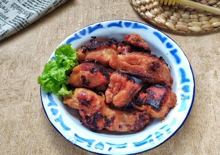 Resep Honey spicy chicken