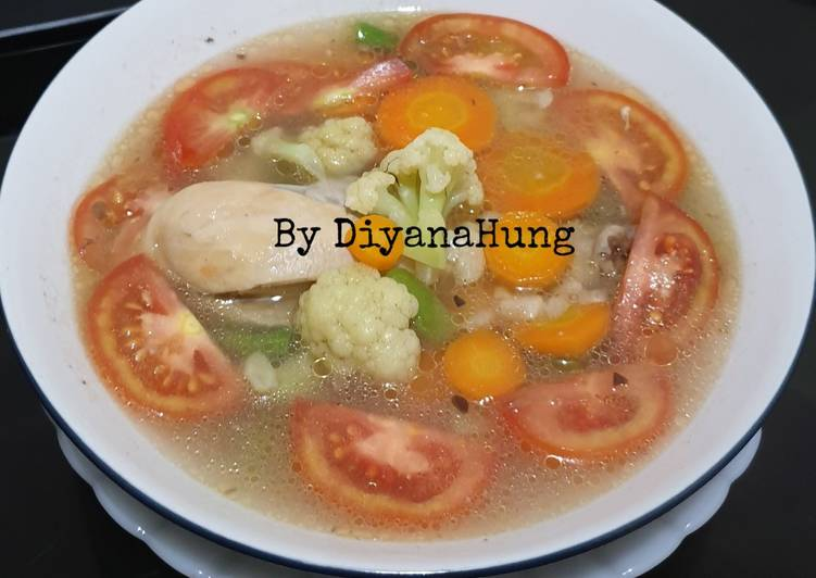 Resep Sup Ayam Sehat