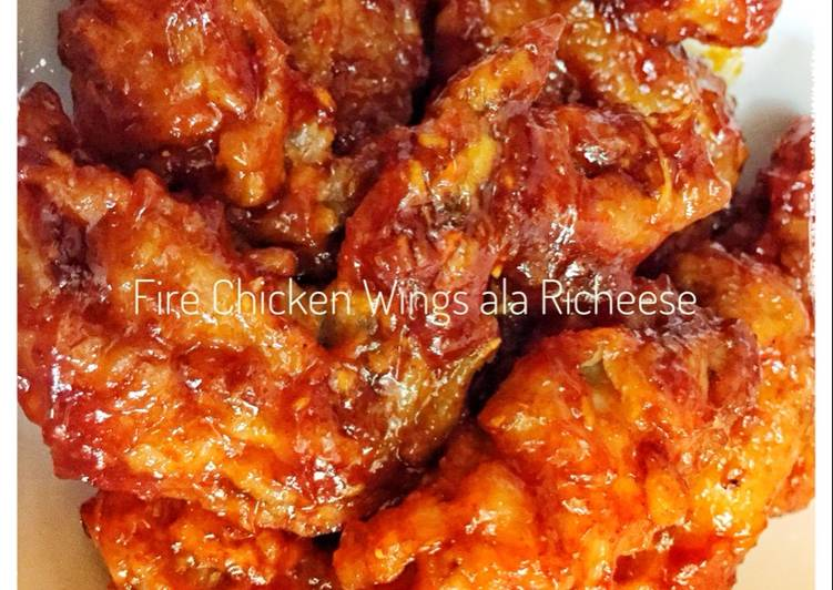 Resep Fire Chicken Wings ala Richeese