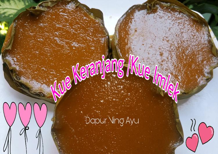 Resep Kue Keranjang/ Kue Imlek