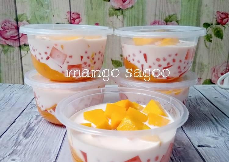 Resep Mango Sagoo