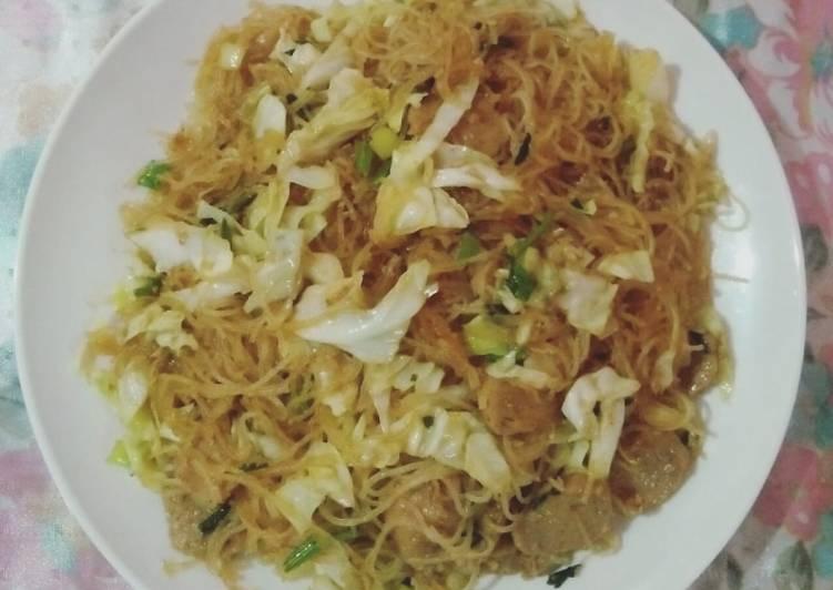 Resep Bihun Goreng dengan bumbu ala chinese food