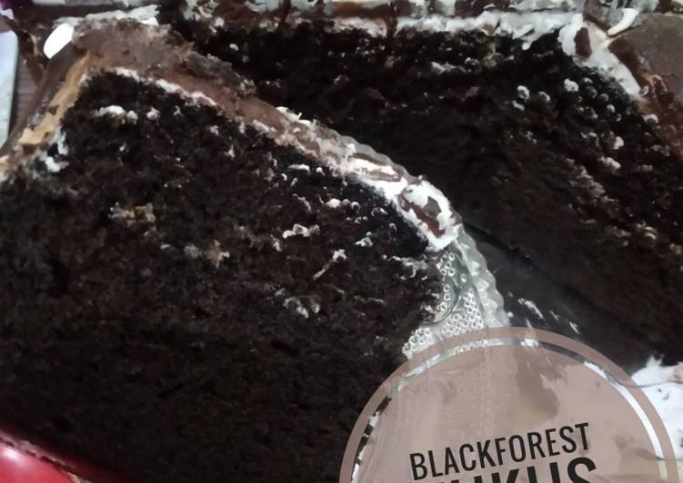 Resep Blackforest kukus