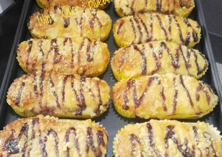 Resep Blueberry Streusel Bread