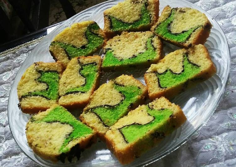 Resep Cake Peta