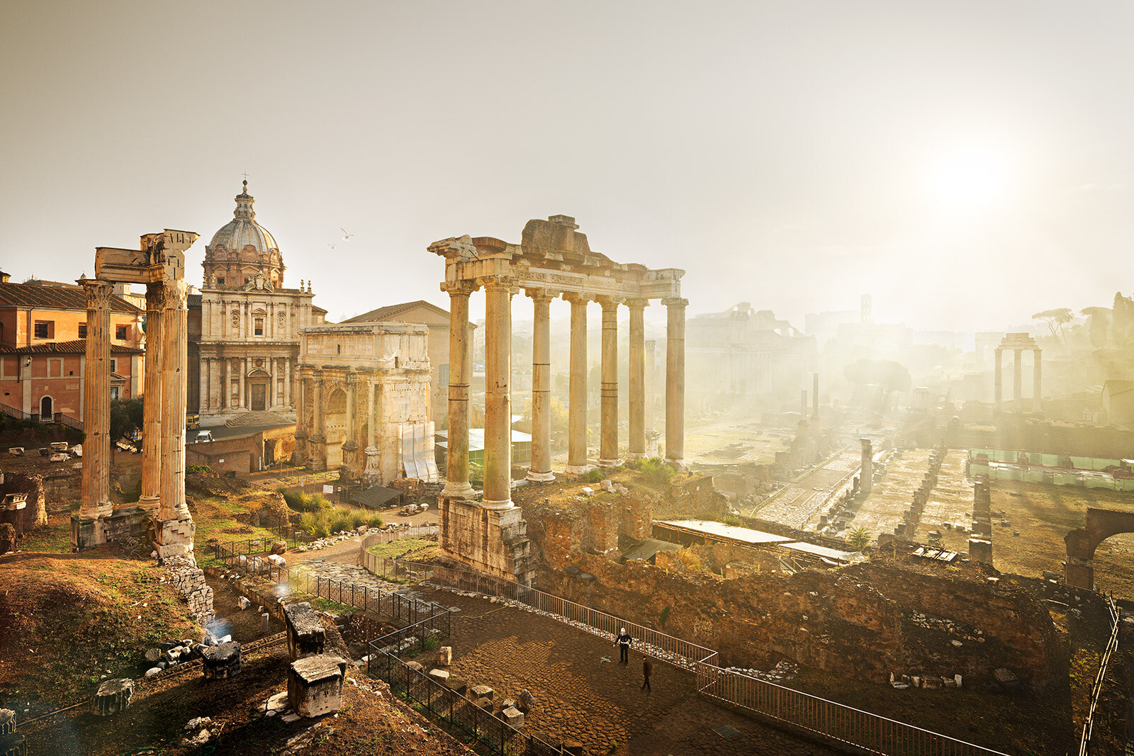Forum Romanum by Tom Nagy. Buy pictures & photo art online ...
