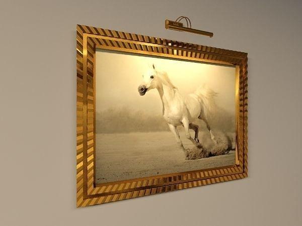 Picture Frame Light Inside