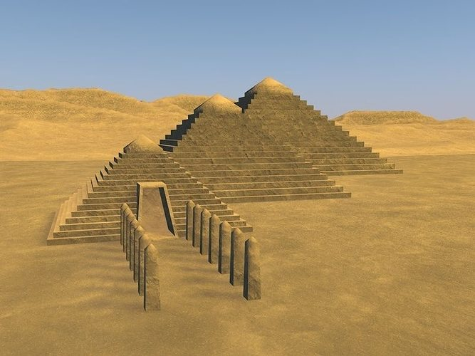 Piramid 3d Model Cgtrader