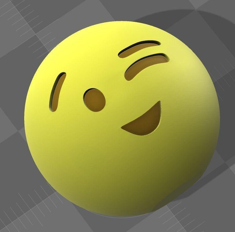 Emoji 12 3d Model 3d Printable Cgtrader Com