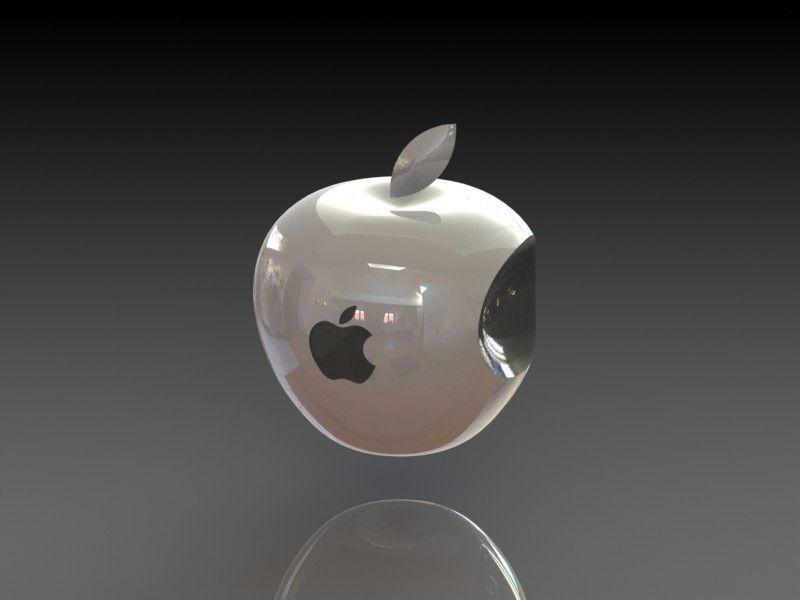 3d Apple Logo Free 3d Model 3d Printable Stl Dwg Sldprt