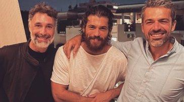 Can Yaman, Raoul Bova e Luca Argentero: che trio sui social!