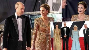 Dopo il tour e le gaffe di Meghan, arriva Kate Middleton in versione Bond Girl