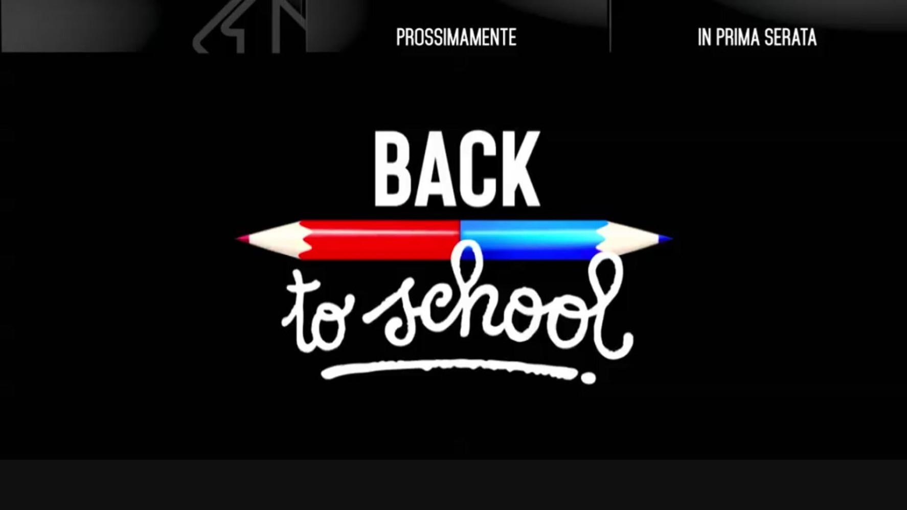 """""""Back to school"""", Nicola Savino fa l'esame di quinta elementare a 25 big"""