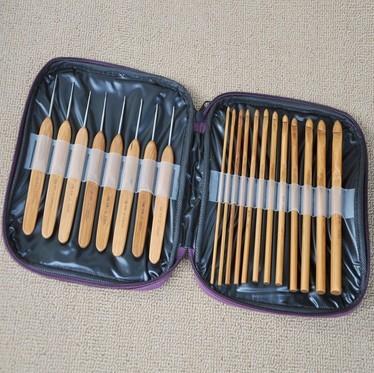 Cabeza De Mano Ganchos de ganchillo agujas de tamaño 10 11 12 13 14 Reino Unido Vendedor
