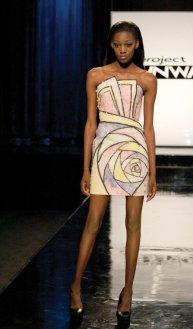 Ven Budhu s Sweet Dress   7 Unconventional Project Runway Outfits    Ven Budhu s Sweet Dress