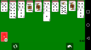 Android Solitaire Screen 16