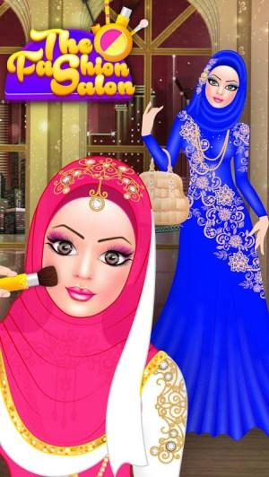 Android Hijab Fashion Doll Dress Up Screen 3