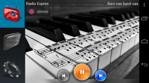 Android Kitchen Radio (Music player) Screen 1