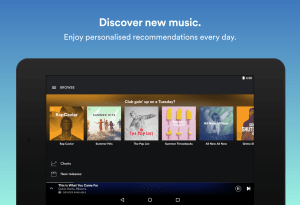 Android Spotify: Music Streaming App Screen 2