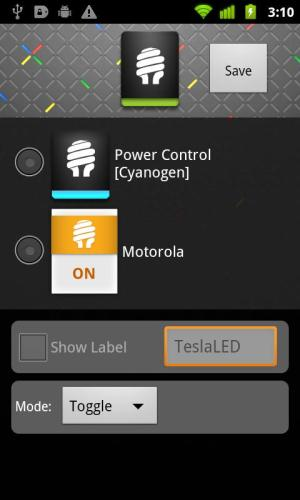 Android TeslaLED Flashlight Screen 3