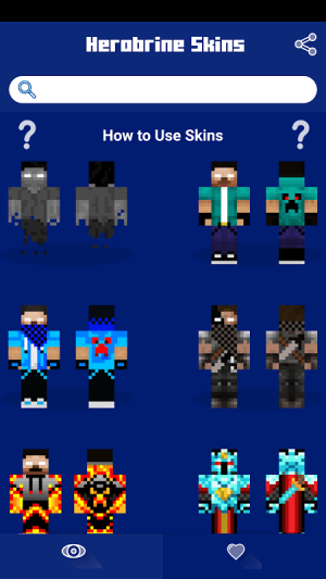 Android Herobrine Skins Screen 2