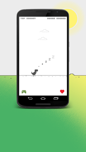 Android Chromasaur Save the dinosaurs Screen 2