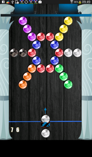 Android Bubble Shoot Screen 2