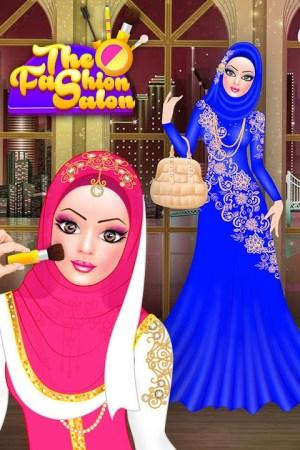 Android Hijab Fashion Doll Dress Up Screen 13
