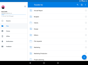 Android Dropbox Screen 15