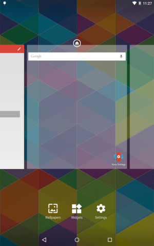 Android Nova Launcher Screen 2