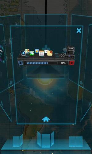 Android Next magic light livewallpaper Screen 3