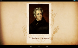 Android U.S. Presidents Screen 5
