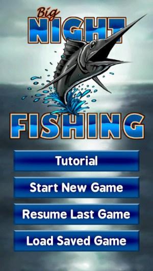 Android Big Night Fishing 3D Screen 2