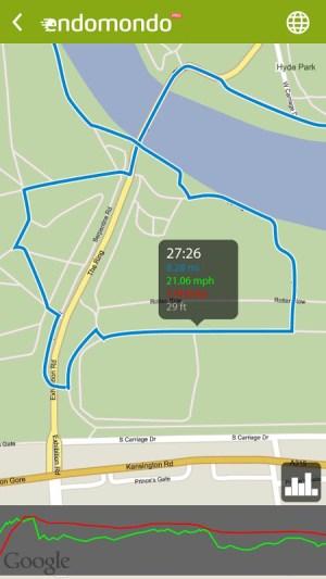 Android Endomondo Sports Tracker PRO Screen 6