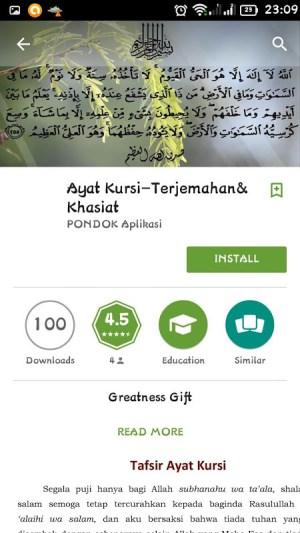 Android PONDOK Ilmu Screen 8