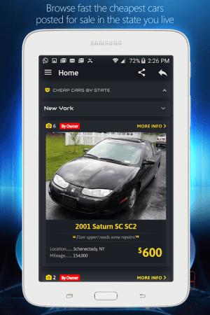 Android com.autopten.cheapcarsforsale Screen 7