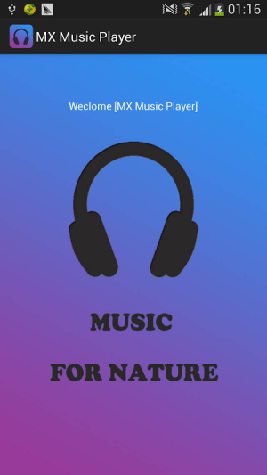 Android MX Music Player Screen 3
